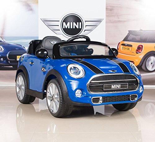 BigToysDirect 12V MINI Cooper Kids Electric Ride On Car
